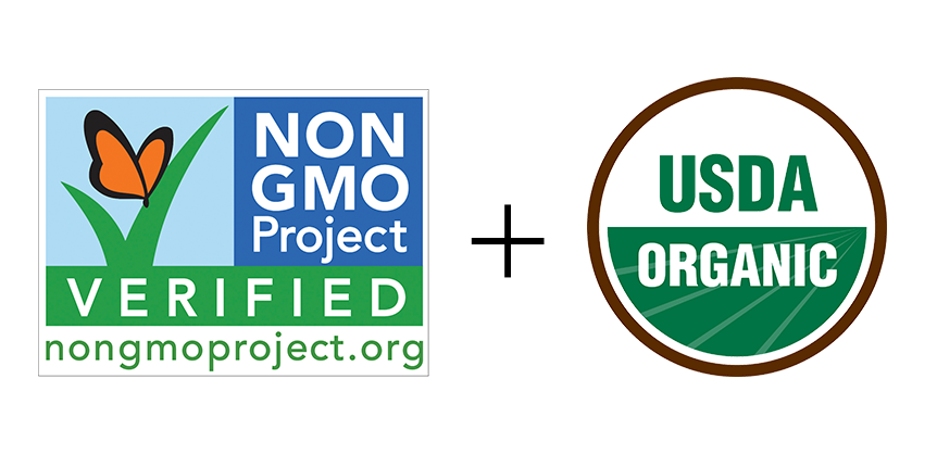 "Certified Organic already means ""non-gmo"", and a lot more. No additional logo needed!"