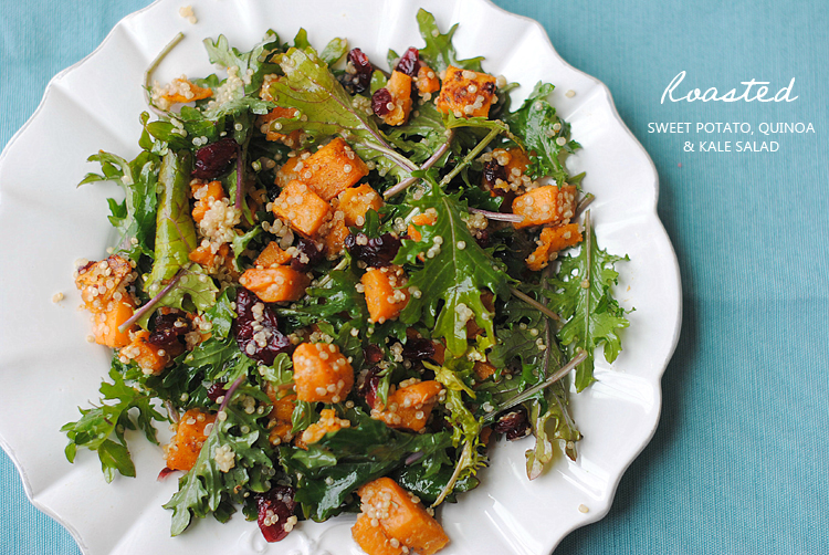 Roasted Sweet Potato, Quinoa and Kale Salad — Philly Dietitian