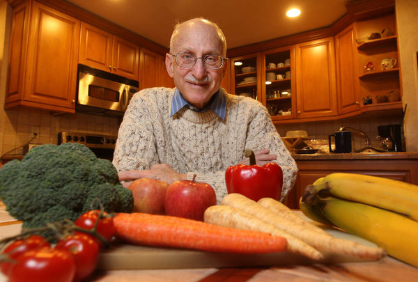 Physician turned patient finds low fat good for his heart