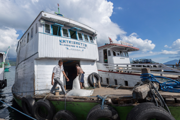 Larantuka Local Ferries