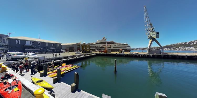 Wellington Docks and Kayaks