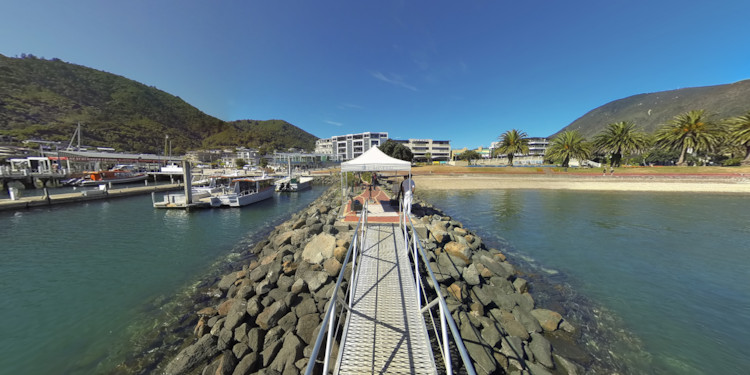 Arrival at Picton