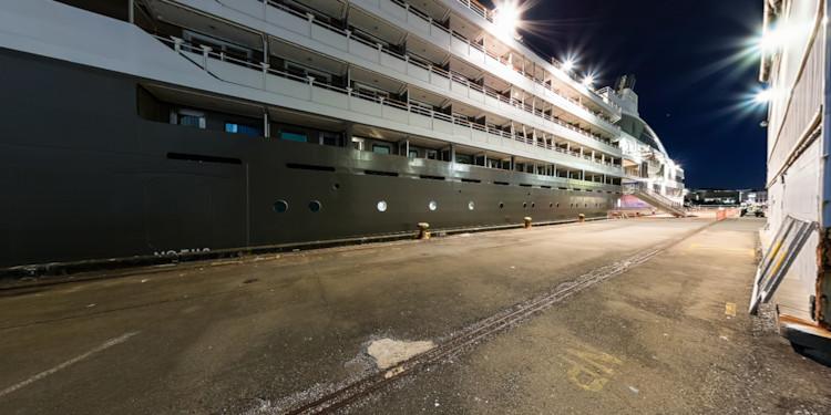 Wellington Docks at Night