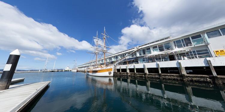 Hobart Docks & Tall Ship