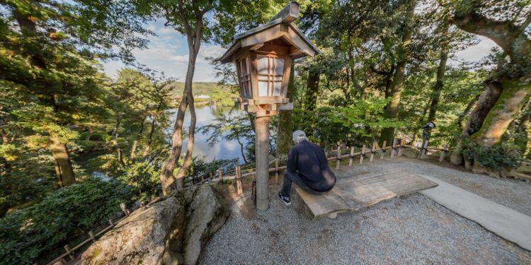Kanazawa Excursion - Kenroku Garden Monument
