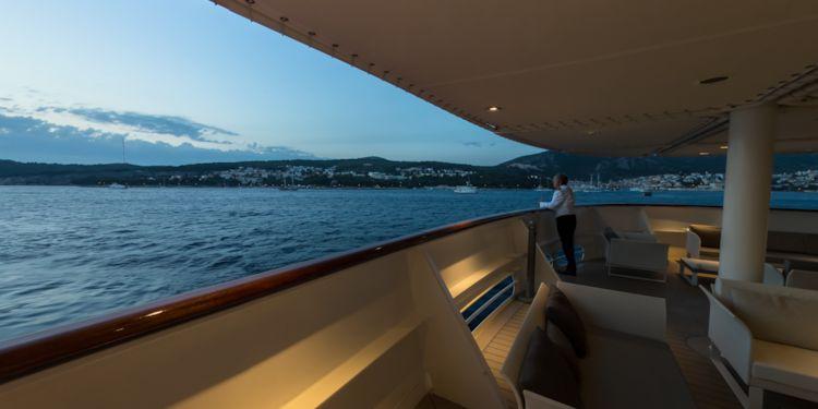 Sunset Hvar Harbour Deck 3