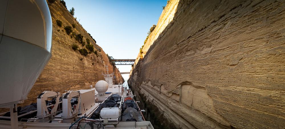 Bridges of the Corinthian Channel
