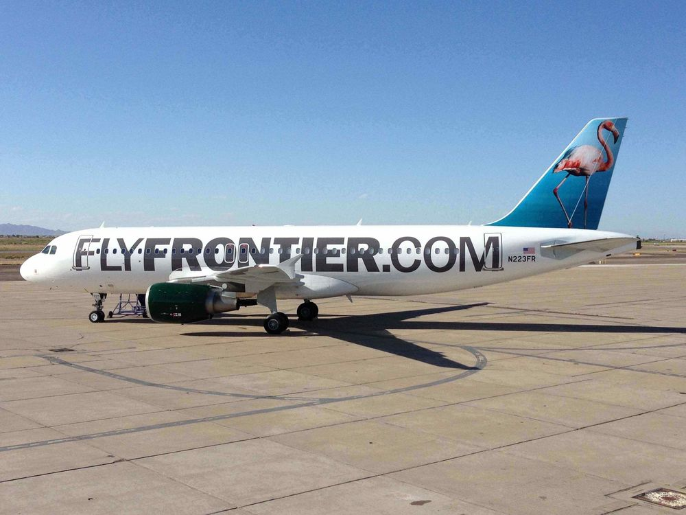 Frontier Airlines now charges for everything from carry-on bags to drinks. I think that's a good business model. Photo: Frontier.