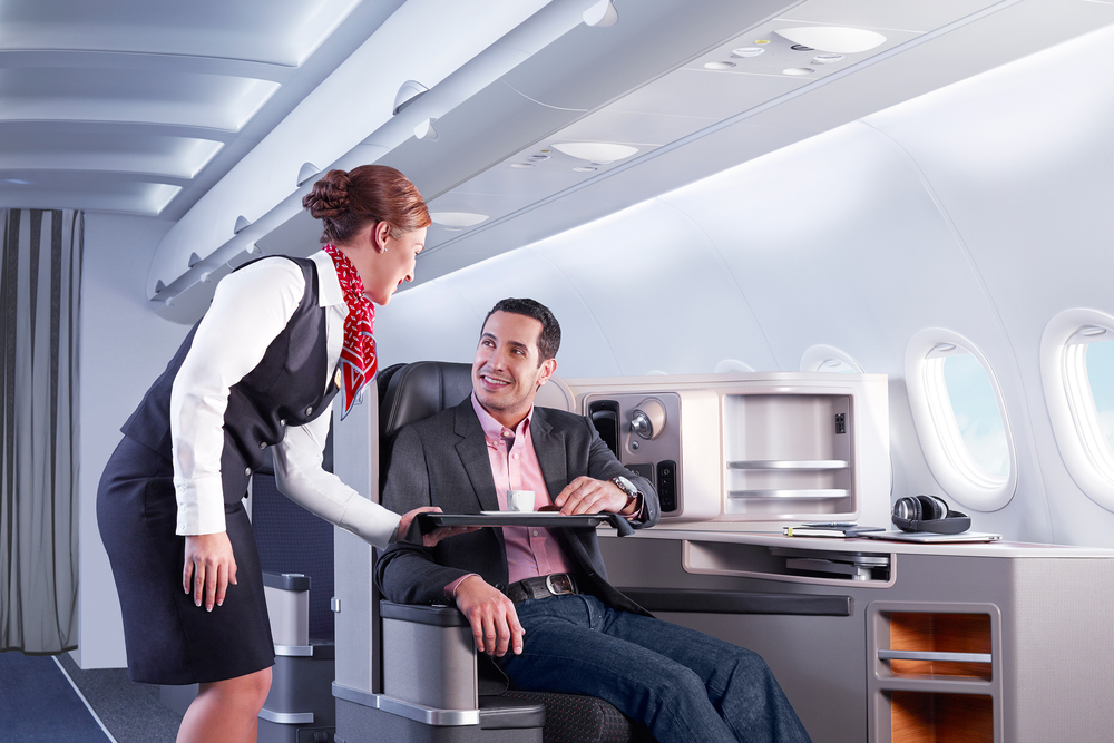 American has a nice product from New York to Los Angeles and San Francisco. But is it really a luxury airline? Should it try to be one? Photo: American Airlines.