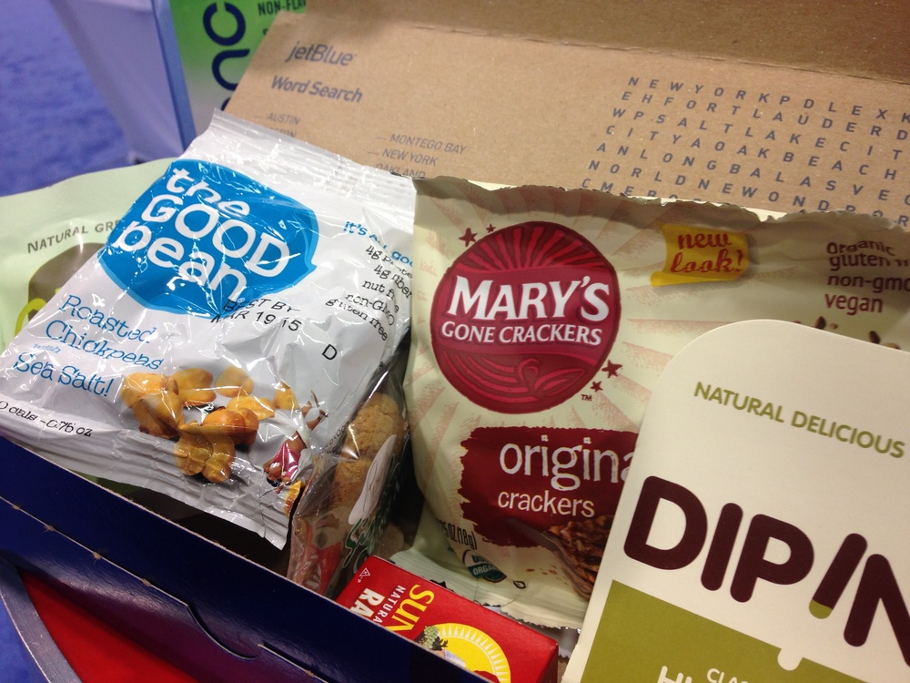 What is JetBlue's top-selling snack box?