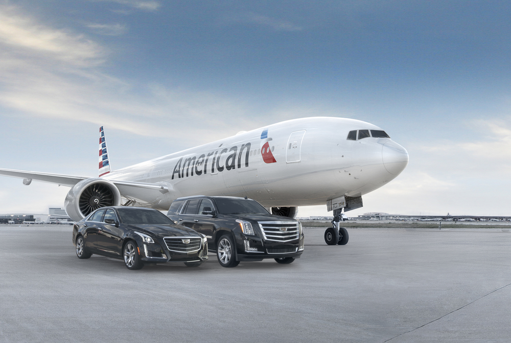 American will start picking up special passengers from aircraft using Cadillacs. Photo: General Motors.