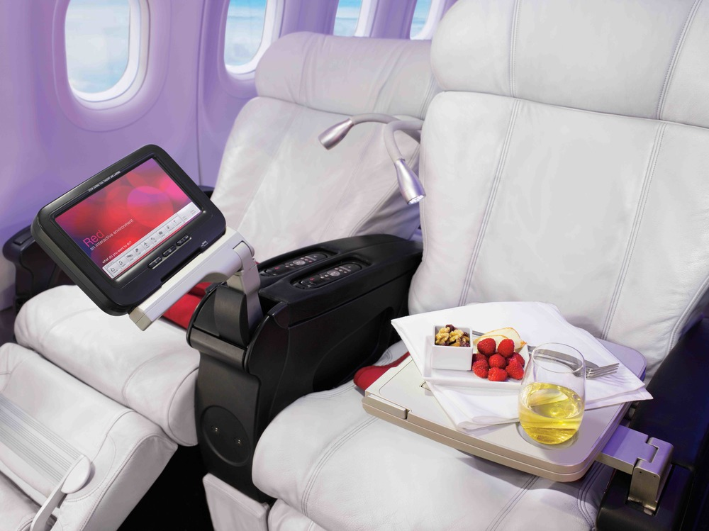 Virgin America offers a strong onboard product. But is it a good investment opportunity? Photo: Virgin America.
