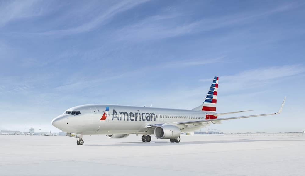 "American Airlines is ""Going for great"" in Chicago, Los Angeles and New York. Photo: American."