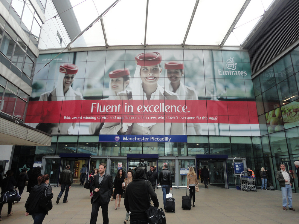 Do you have what it takes to join Emirates as a flight attendant? Photo: JCDecaux, via Flickr.