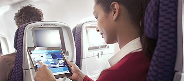 United Airlines is quickly installing wifi. Photo: United Airlines.