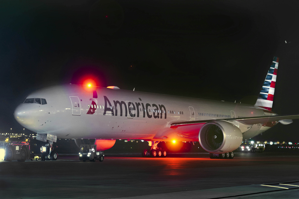 In what is likely more of a temporary setback than anything else, flight attendants at American Airlines failed to ratify a new contract. Photo: American Airlines.