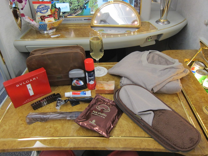Ben Schlappig takes some epic flights and then writes about them on his blog. Here, he enjoyed Emirates first class.