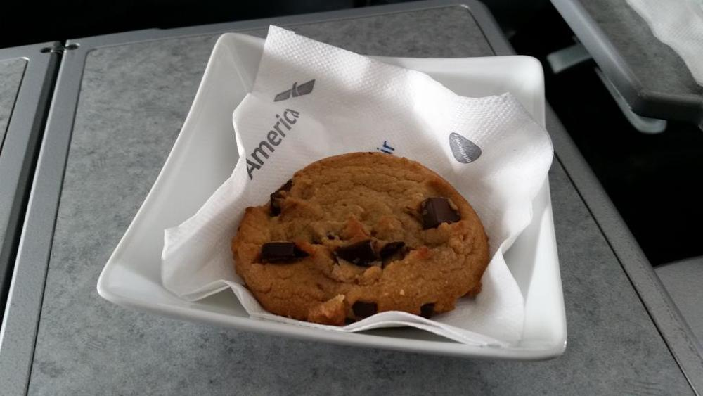 Gary Leff has some cookie issues with American Airlines. Photo: Gary Leff.