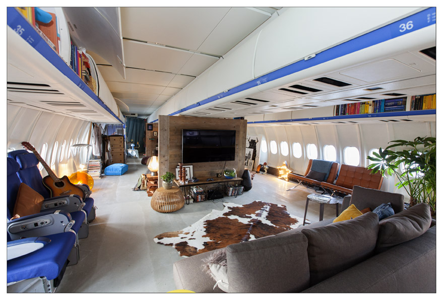 KLM turned a MD-11 into an apartment. Photos: KLM.