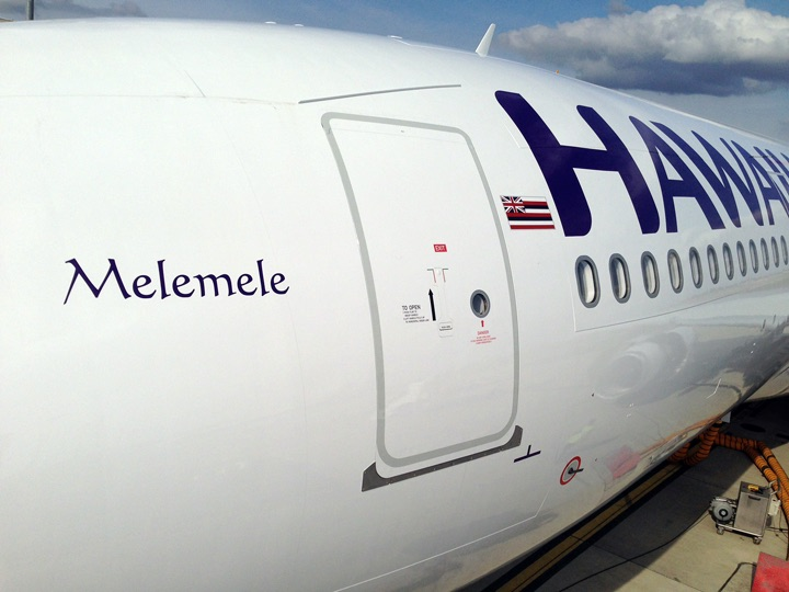 Yet again, Hawaiian Airlines was the nation's most on-time carrier in October. Photo: Hawaiian Airlines.
