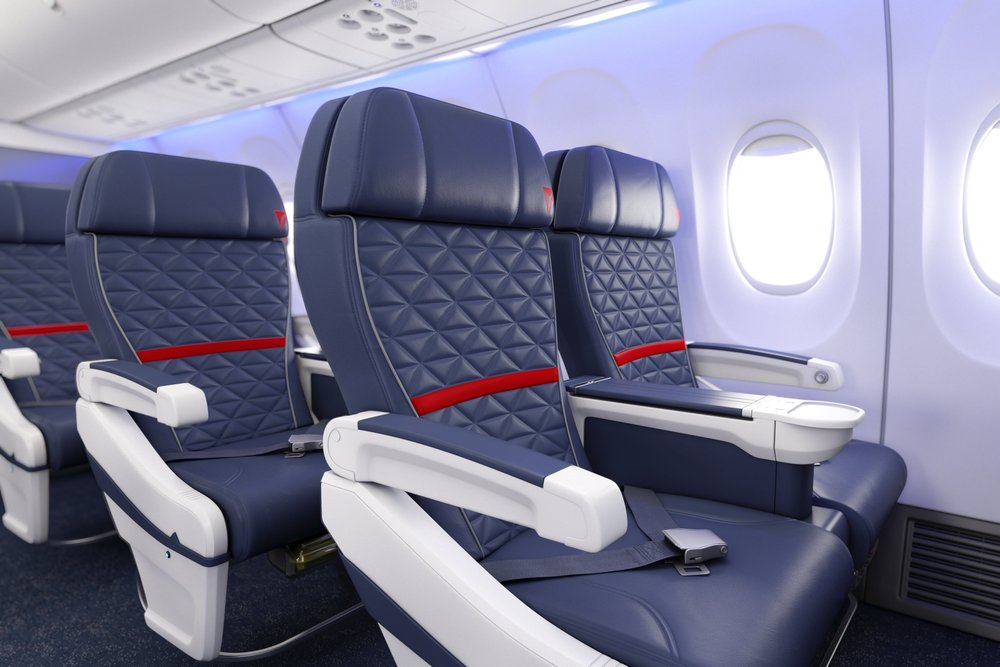 Delta expects to sell more domestic first class seats next year. That means fewer upgrades for frequent fliers. Photo: Delta Air Lines.