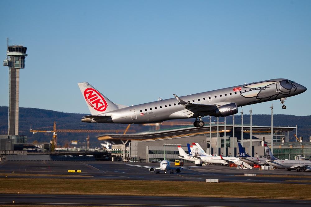 Fly Niki will soon start the shortest route in the world.Photo:Marius Konrad Eriksen, via Flickr, creative commons.