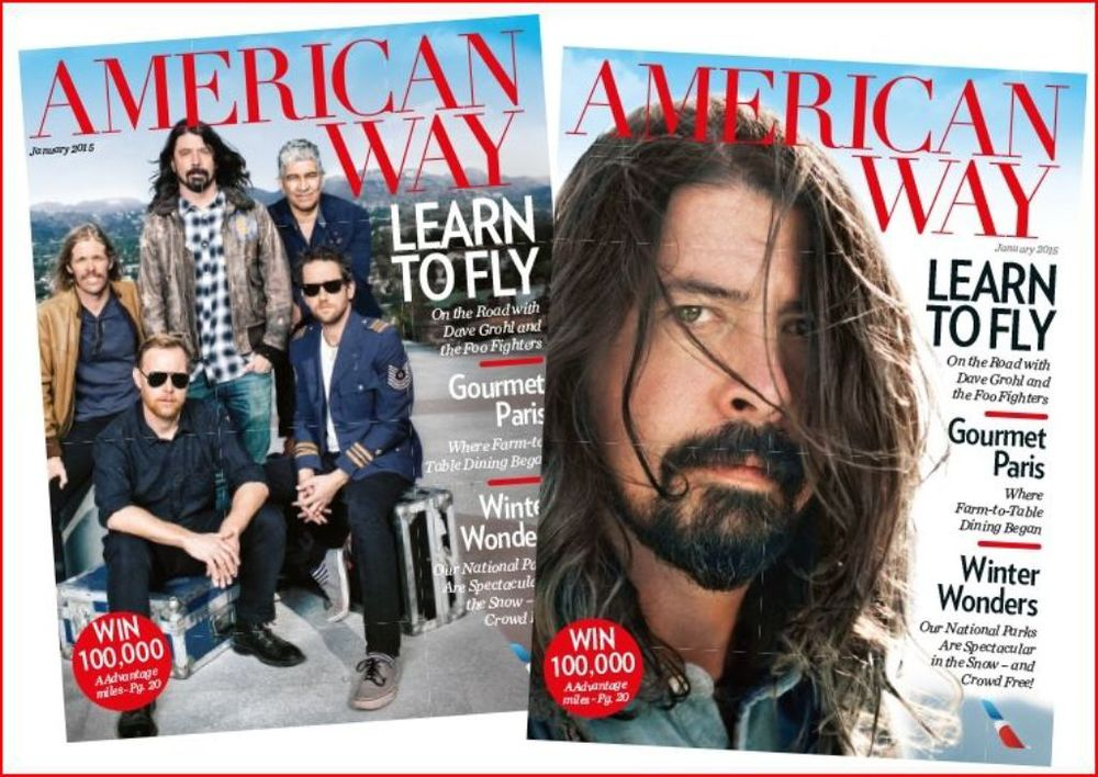 American Way magazine has a new look. Photo: American Airlines