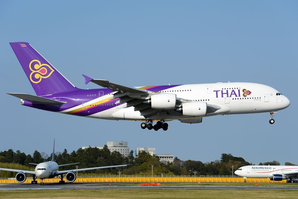 How much longer will Thai Airways fly into Los Angeles? Photo: Toshi Aoki - JP Spotters, via Wikimedia Commons.