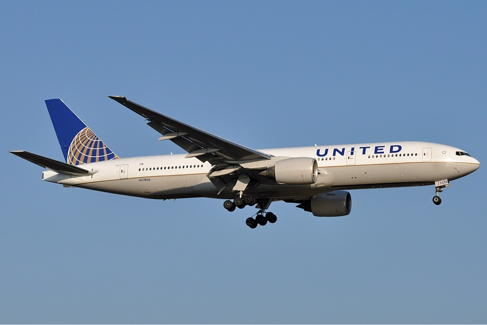 United is considering switching some Boeing 777s to a high-density configuration. Photo: Wikimedia Commons.