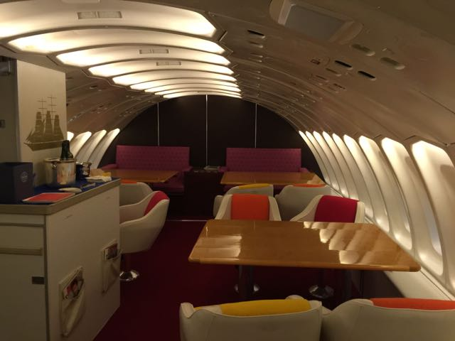 Upstairs on the Air Hollywood Pan Am 747 mockup. Photo: Brian Sumers.