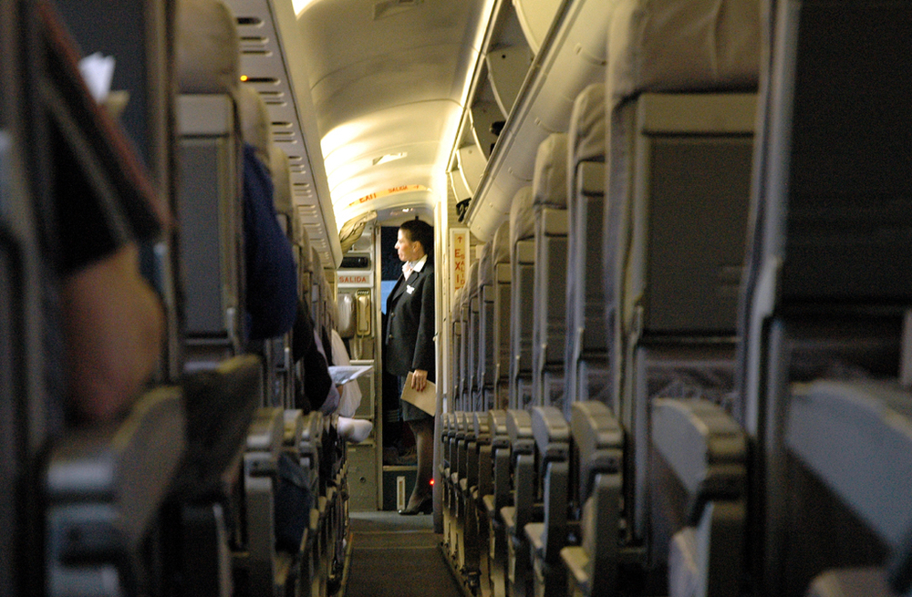 A man on a United ExpressJet flight on Monday relieved himself in the galley. Photo: Doug/Flickr, licensed by Creative Commons.