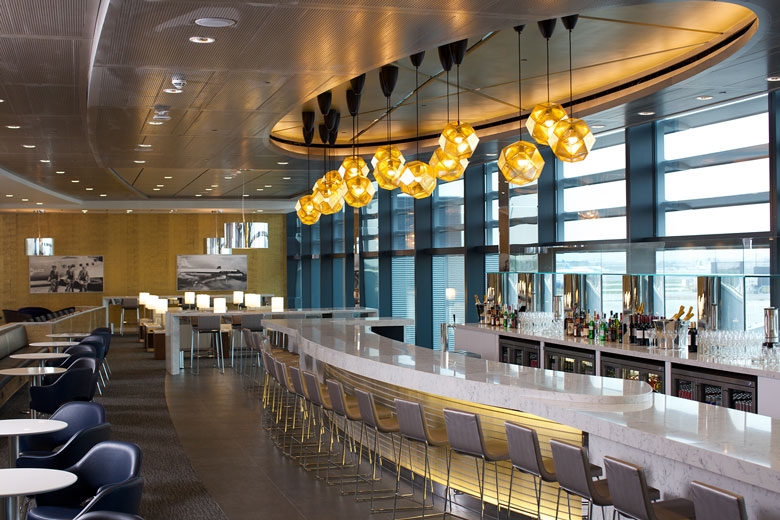 Last year, United opened a new lounge at London Heathrow. It has major plans for its lounges in 2015, as well. Photo: United.