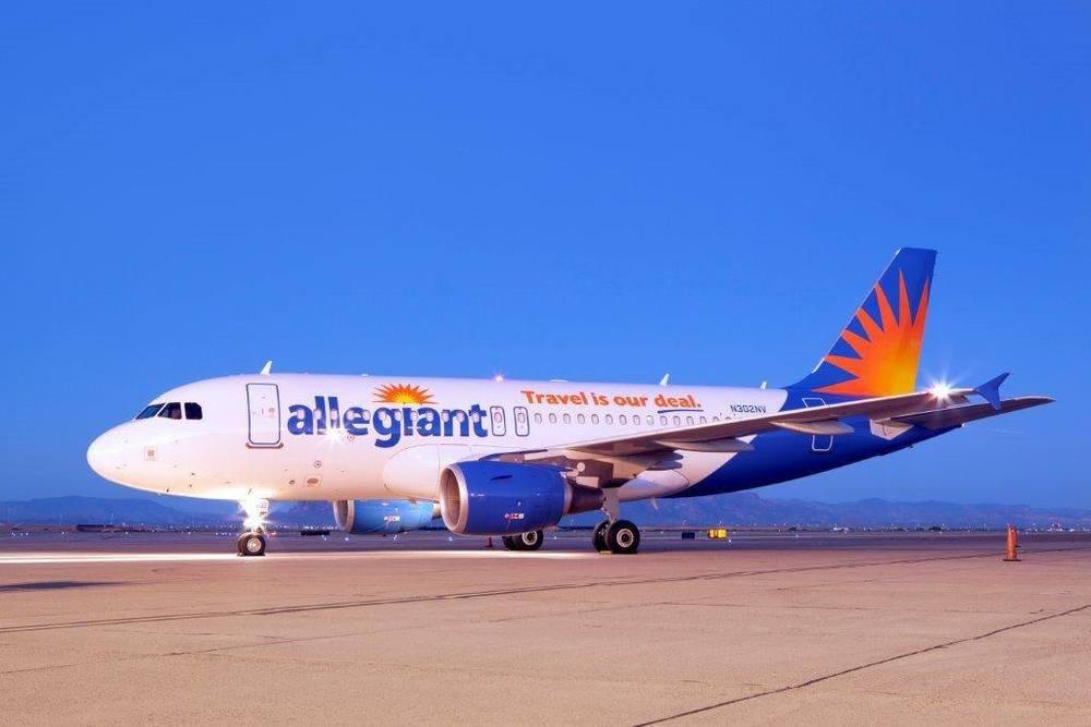 Allegiant Air is taking legal action against its pilots union. Photo: Allegiant Air.