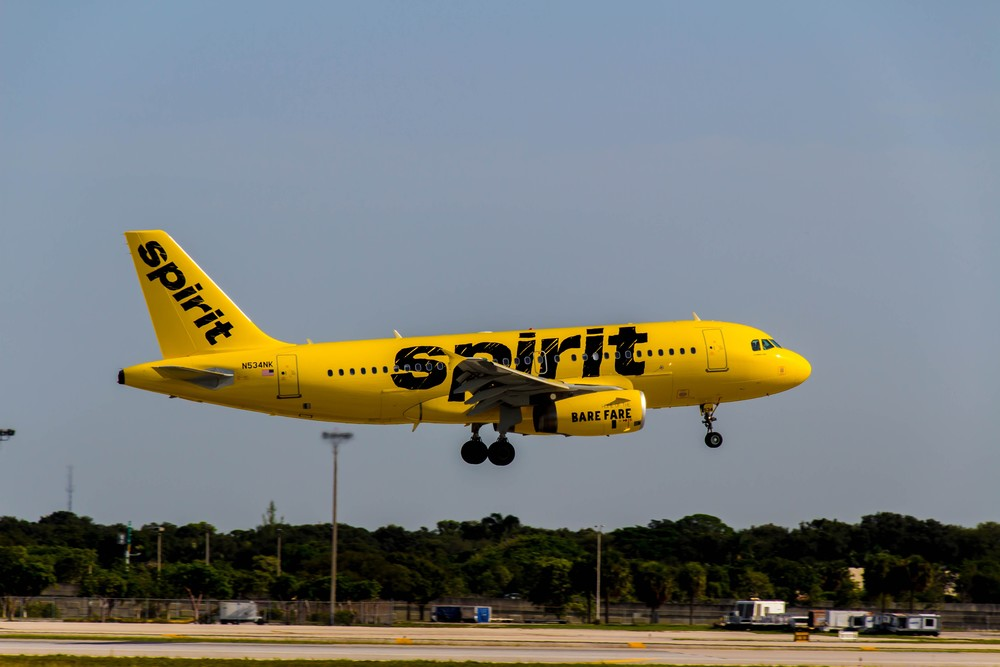"Spirit Airlines makes a lot of its money in ""non-ticket revenue."" Photo: Spirit Airlines."