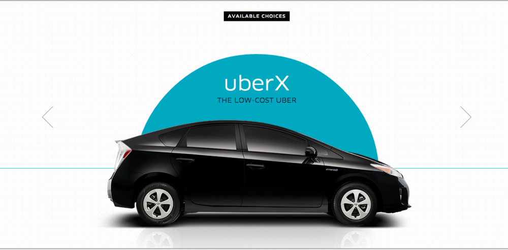 Ready to take an UberX from LAX? It should soon be allowed. Photo: Uber.