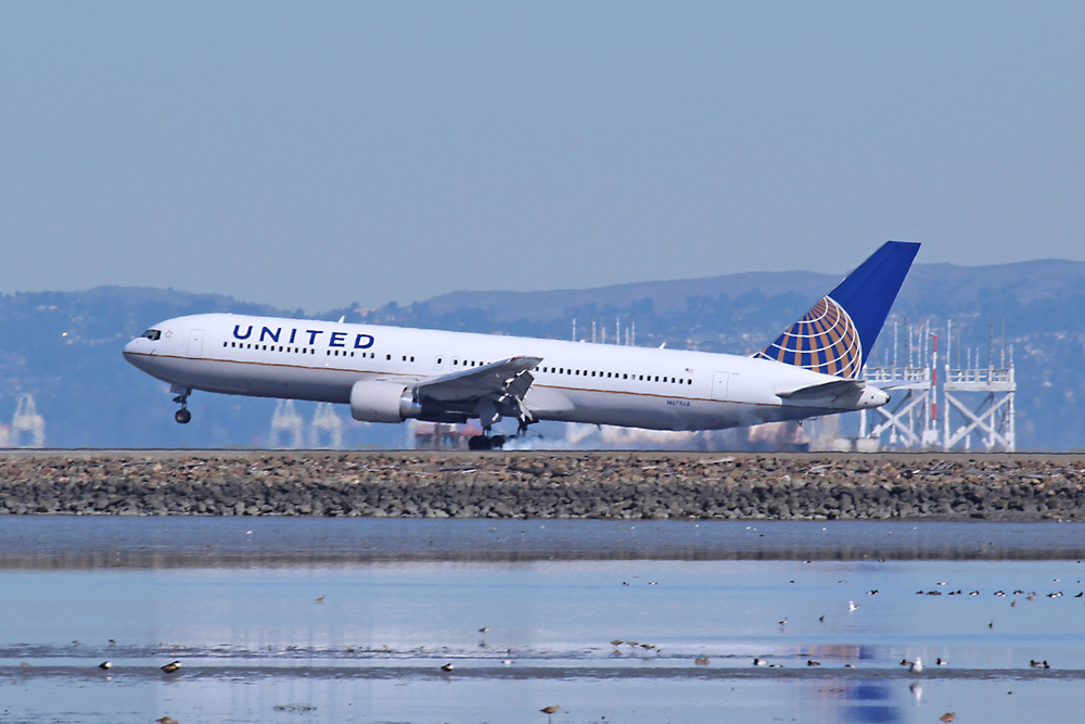 United will start flying 767s some some key routes to Europe. Photo: Eric Prado/Flickr (Creative Commons)