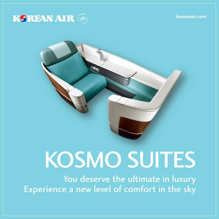 First and business class passengers are worth big money to Korean Air Lines. Photo: Korean