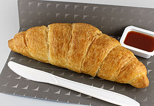 The morning croissant. Photo: United
