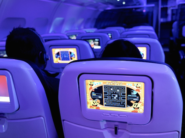 Better in-flight entertainment is coming to Virgin America flights. Photos: Virgin America.