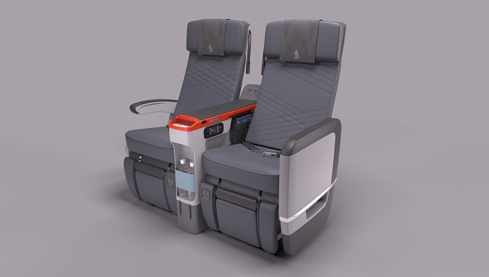 Business Insider says airlines are improving economy class cabins. That's true, though the story mainly focuses on new premium economy seats, like these from Singapore Airlines. Photo: Singapore Airlines.