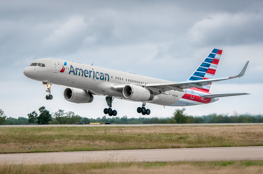 American Airlines is taking a summer break on plane painting. Photo: American Airlines.