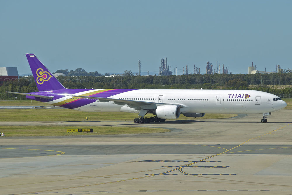 Thai Airways will leave Los Angeles later this year. Photo: Aero Icarus/Wikimedia Commons.