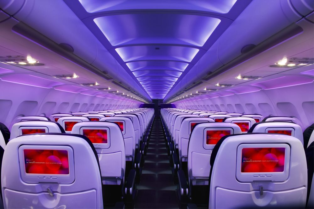 Don't expect free WiFi on Virgin America. Photo: Virgin America.