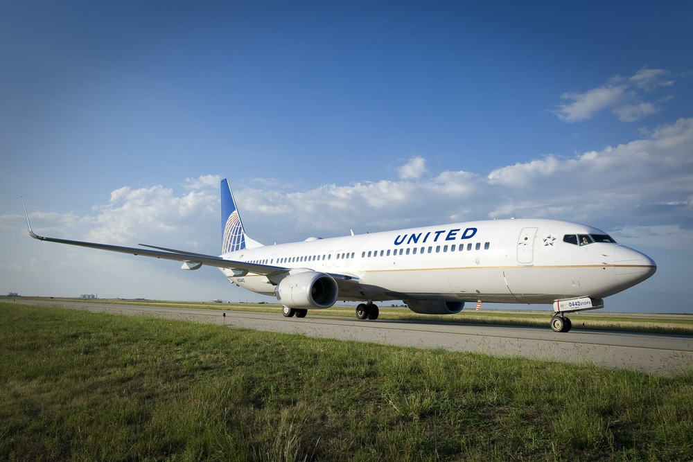 United Airlines' on-time performance improved slightly in July. Photo: United.