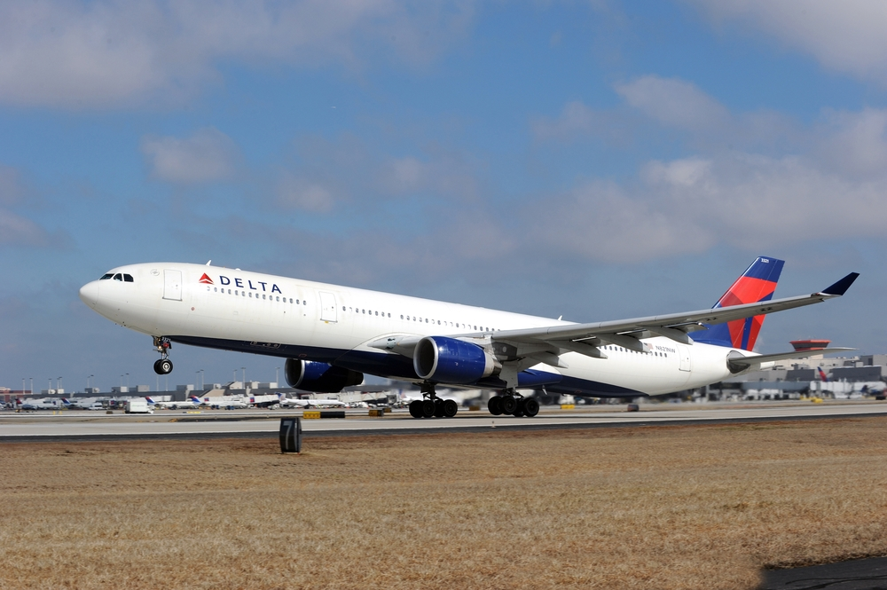 "Delta is promising corporate customers it will remain the top on-time ""global"" airline in the U.S. Photo: Delta."