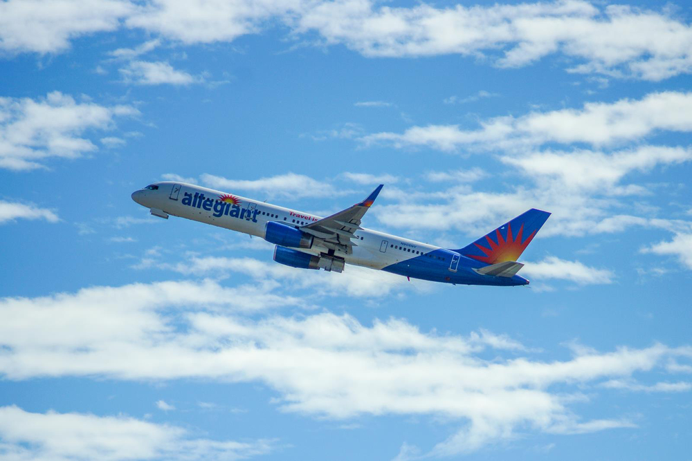 Allegiant Air is answering its phones 24 hours a day, seven days a week.  Photo: Allegiant