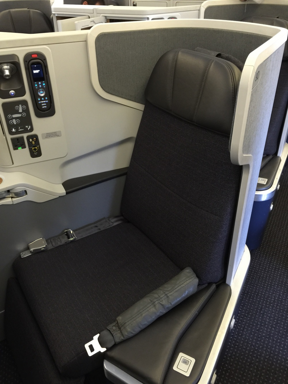 American Airlines has a strong product in business class on its Boeing 777-300ERs.
