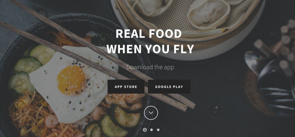 Order airport food ahead of time with AirGrub.
