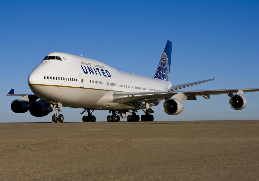United recently broke a Boeing 747 cargo record. What was it? Photo: United.