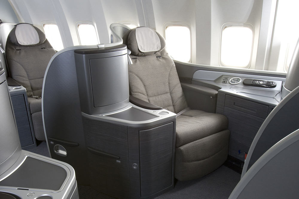 United is removing first class on many widebody aircraft. But many planes, including all 747s, still have the spacious cabin. Photo: United Airlines.